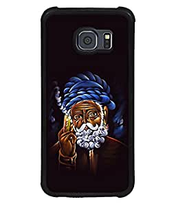 printtech Weed Smoke Traditional Back Case Cover for Samsung Galaxy S6 Edge::Samsung Galaxy Edge G925