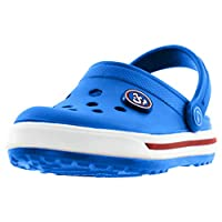 Beppi Clogs - Children & Womens Comfortable Sandal Shoes - for House and Outdoor Use Blue