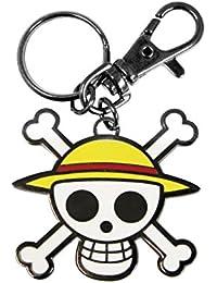 One Piece Schlüsselanhänger Skull-Luffy