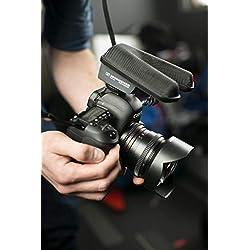 Microphone canon stéréo professionnel MKE 440 Sennheiser pour appareils photo, noir