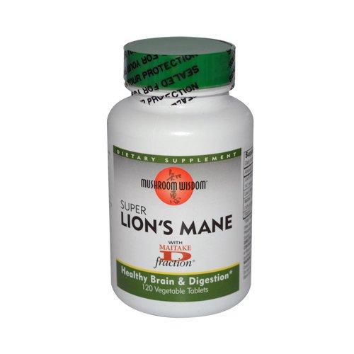 Maitake Products, Mushroom Wisdom Super Lion's Mane - 120 vcaps
