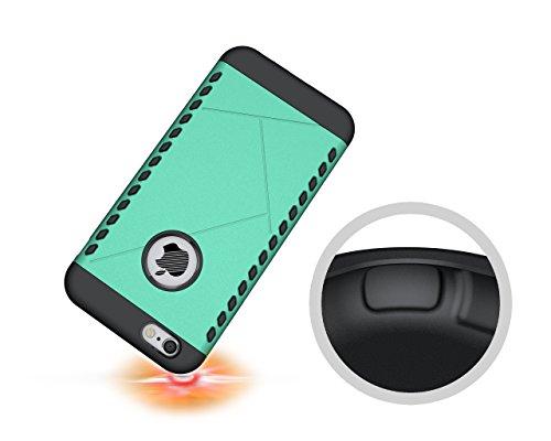CruzerLite Spartan Dual Protection Hülle für Apple iPhone 6S Plus teal Teal