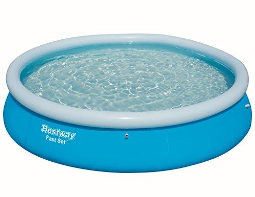 Bestway Fast Set Pool Ersatzteil, rund, blau, 366 x 76 cm