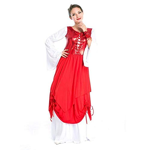 mpir Teufel Halloween Cosplay Kostüme Kleid Für Erwachsene Frauen Karneval Kleid Retro Gericht Kostüm Leistung Party Kostüm ()