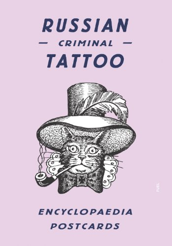 Russian Criminal Tattoo Encyclopaedia Postcards por Danzig Baldaev