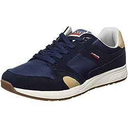 Levis Footwear and Accessories Sutter, Zapatillas para Hombre, Azul (Navy Blue 17), 42 EU