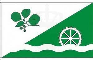 Königsbanner Kleinfahne Elsdorf-Westermühlen - 20 x 30cm - Flagge und Fahne