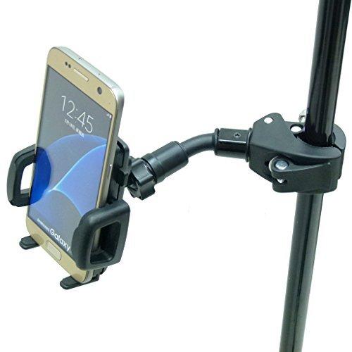 BuyBits Aggancio Rapido Compact Music Mic Supporto Montaggio Telefono per Samsung Galaxy S7