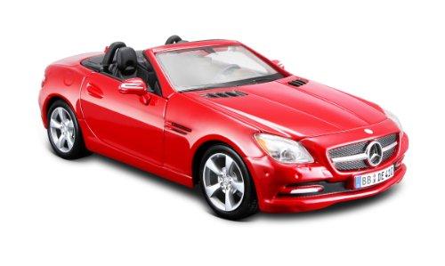 maisto-2042972-maquette-de-voiture-mercedes-slk-11-rouge-echelle-1-24