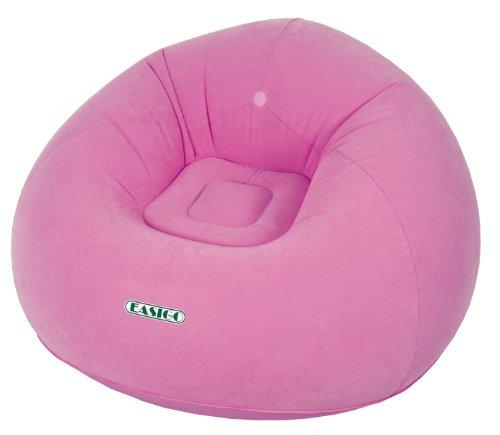Jilong-Relax-Indoor-Sofa-EASIGO-Rosa-PVC-105x105x65-cm