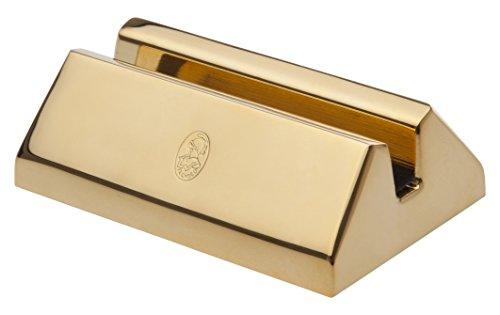 Soporte para tarjetas de visita El Casco M670L bañado en oro