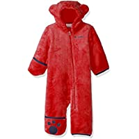 Columbia Foxy Baby II Bunting Mono Polar, Poliéster, Rojo (Red Spark), Talla 6/12 Meses