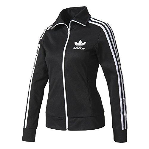 adidas Damen Europa TT Sweatshirt, Schwarz, 36 (Cutaway-jacke)