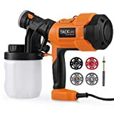 Tacklife SGP15AC Advanced 400W Paint Sprayer Electric Spray Gun with Three Spray Patterns