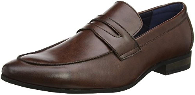 New Look Lets Go, Zapatillas para Hombre, Marrón (Dark Brown 27), 43 EU