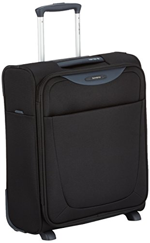 Samsonite Base Hits Upright Valigia, 33 Litri, Black