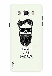 Noise Designer Printed Case / Cover for Samsung Galaxy On8 / Patterns & Ethnic / Beard Design
