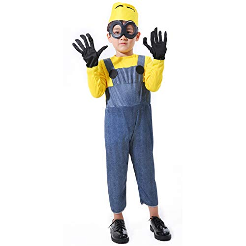 unbrand Damen Erwachsene Kinder Weibliche Despicable Me Minion Film Cartoon Spiel Kostüm Outfit