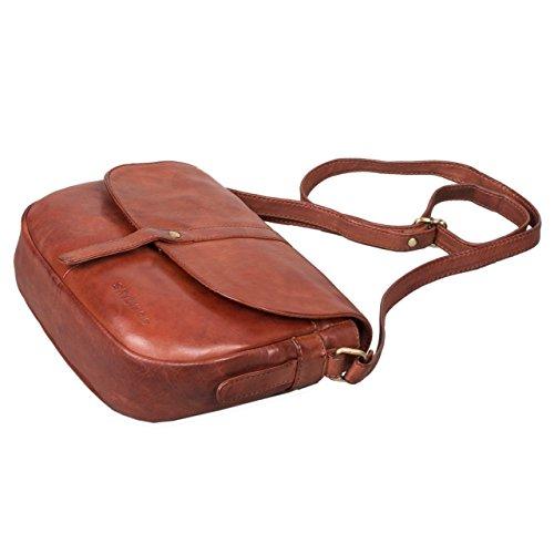 ccce336ff Stilord A Vintage Pelle 'kira' Borsetta Donna Borsa Da Tracolla In Mano  rnwr0zaqRA
