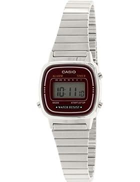Casio Damen Digital mit MetallArmbanduhr LA 670WA 4