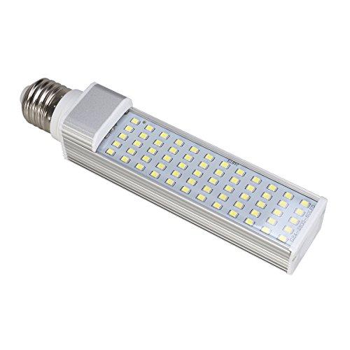 UEETEK Aquarium Beleuchtung Fisch Tank LED Leuchte Lampe Aufsetzleuchte 11W E27 energiesparend (Weiß)