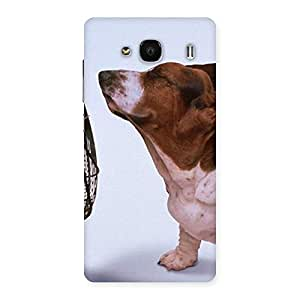 Funny Cute Dog Back Case Cover for Redmi 2