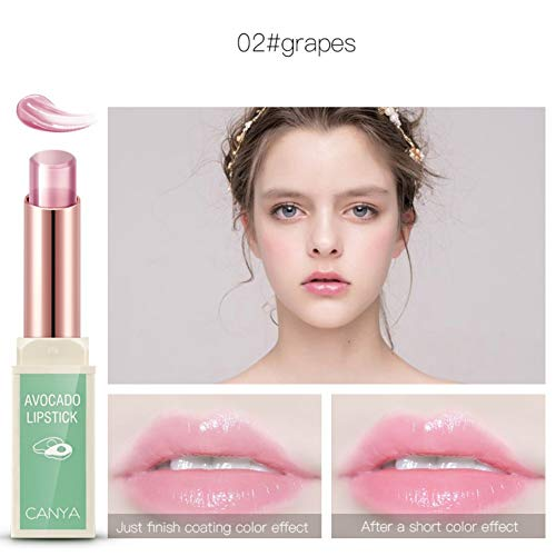 6c35a05760f6fb Baume à lèvres changeant de couleur pour le rouge à lèvres Jelly avec  essence d'