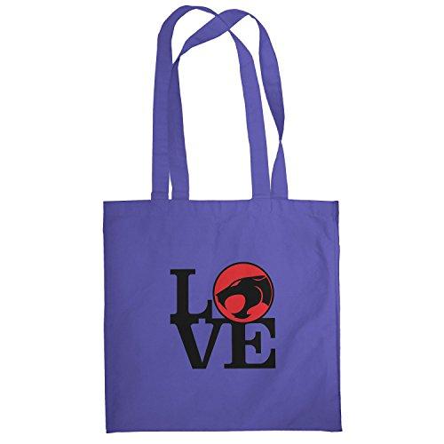 Texlab–Thunder Love–sacchetto di stoffa Marine