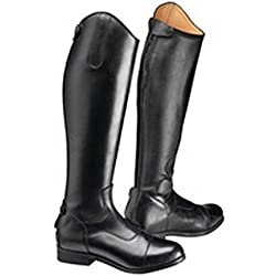 Harry Hall - Botas Altas de Montar de Cuero Modelo Edlington para Hombre (43 EU/Negro)