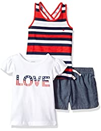 Carter's Baby Girls' 3-Piece Playwear Set