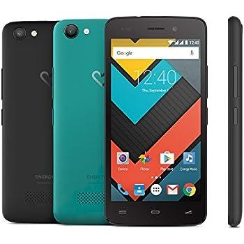 "Energy Sistem Neo 2 - Smartphone, con pantalla de 4.5"" (Quad Core ARM Cortex A53 1.0 GHz, Xtreme Sound, 4G/LTE, cámara de 5 MP, memoria interna de 8 GB, 1 GB de RAM, Android 6.0) color negro"