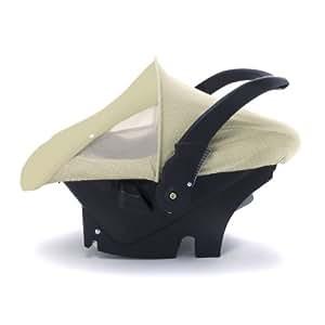 EVC Cozy Sun & Bug Car Seat Cover - Beige