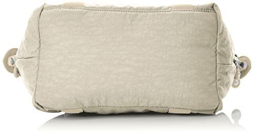 Kipling Damen Art Mini Henkeltasche, 34x21x18.5 cm Weiß (Tile White)