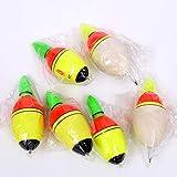 10 piezas 20g 30g 35g 40g flotadores Bobber espuma flota LED luz nocturna iluminación Pesca