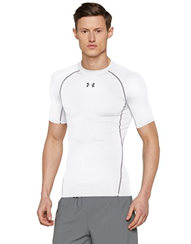 Under Armour Men's HeatGear Shortsleeve T-Shirt - White, Medium