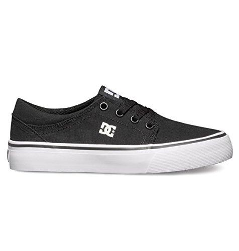 DC Shoes Jungen Trase Tx Sneaker Schwarz/Weiß