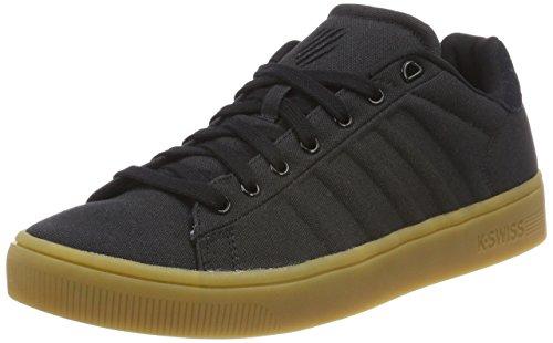 K-Swiss Herren Court Frasco Cvs Sneaker, Schwarz (Black/Gum 226), 42.5 EU