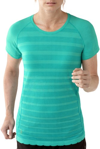 Smartwool Phd Run Crew T-shirt pour femme Vert - Menthe verte