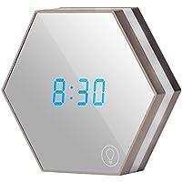 Zreal Wecker Digitaluhr, LED Spiegel Wecker, 3in 1Wecker Digitaluhr, Wecker, Spiegel mit Nachtlicht, Touchscreen... preisvergleich bei billige-tabletten.eu