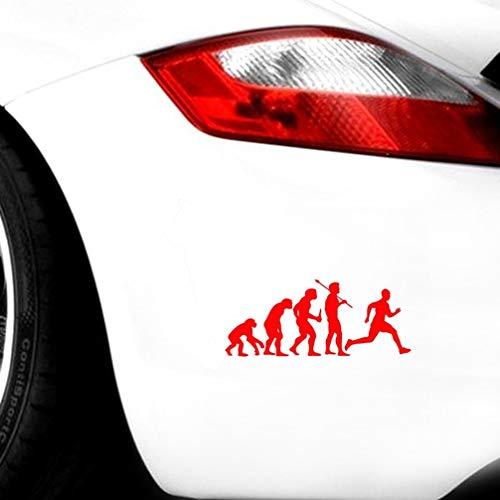 vw aufkleber auto Lustige persönlichkeit auto aufkleber laufen evolution zubehör 15,2 cm x 6,3 cm für auto laptop fenster aufkleber