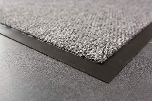 Carpido Nela, FS0610015040, Tuervorleger / Sauberlaufmatte, 100 % Polypropylen, 40 x 60 cm, grau - 5