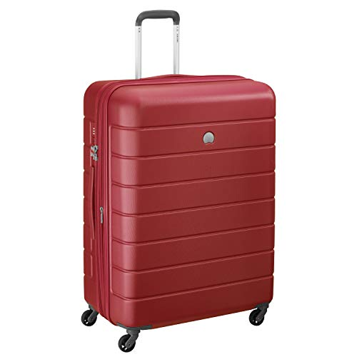 Delsey Paris LAGOS Bagaglio a mano, 76 cm, 120 liters, Rosso (Rot)