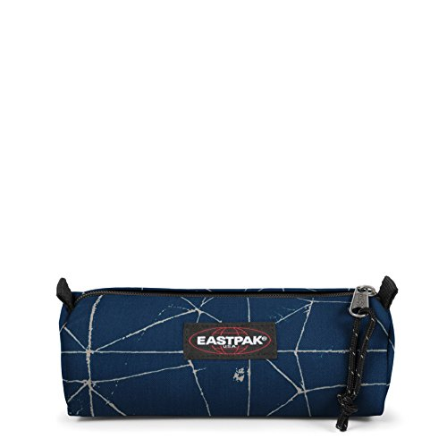 Eastpak Benchmark Single Trousse, 21 cm, Bleu (Cracked Blue)