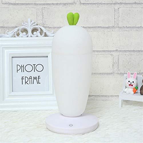 PDDXBB 3D USB Wiederaufladbare Abnehmbare Touch Dimmer Atmosphäre Tischlampe Augenpflege Lampe Energiesparlampe Weiße Lampe 10 * 10 * 20 cm (Dragon Touch-lampe)