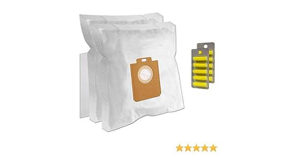 PakTrade 10 Sacchetti per Aspirapolvere AEG-ELECTROLUX Essensio AEO 5410