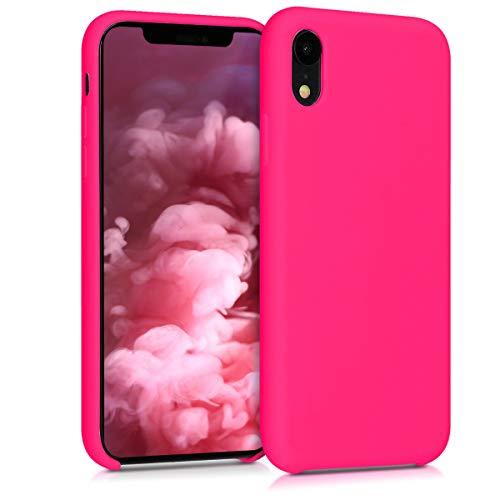 kwmobile Apple iPhone XR Hülle - Handyhülle für Apple iPhone XR - Handy Case in Neon Pink