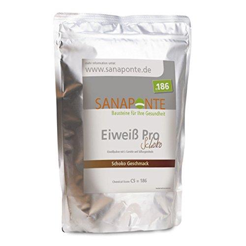 Leben Vanille Vitamine (Sanaponte Eiweiß Pro 1000 g Protein Pulver Schokoladen Geschmack)