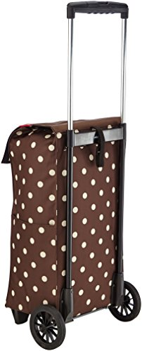 Reisenthel NZ6018 Wheeled Bag 42.5 x 74 x 28 cm Mocha Dots