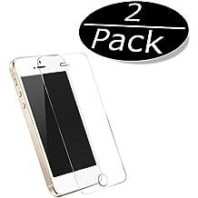 2x iprime® Premium Apple Iphone 5/5s/5C, iPhone se tanque Cristal Vidrio Templado Protector de pantalla Protector de pantalla de cristal 3d Touch compatible Anti Shock tanque pantalla Protector de pantalla