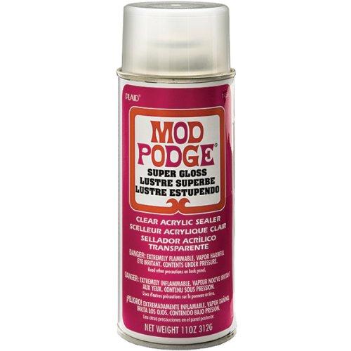 Mod Podge Acryl Maschinen (11-Ounce), 1450Super Gloss -